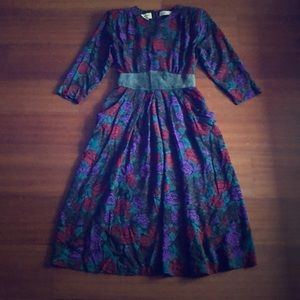 Vintage Karin Stevens Women's Spring Dress